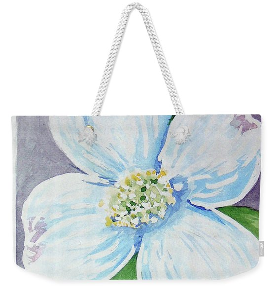 Dogwood Bloom Weekender Tote Bag