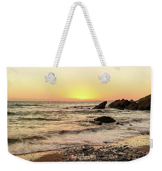 Dollar Cove Beach  Weekender Tote Bag