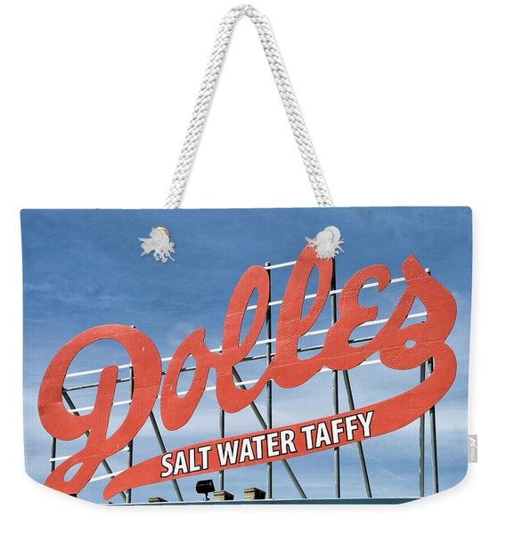 Dolles Salt Water Taffy - Rehoboth Beach  Delaware Weekender Tote Bag