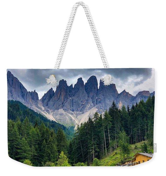 Dolomite Drama Weekender Tote Bag