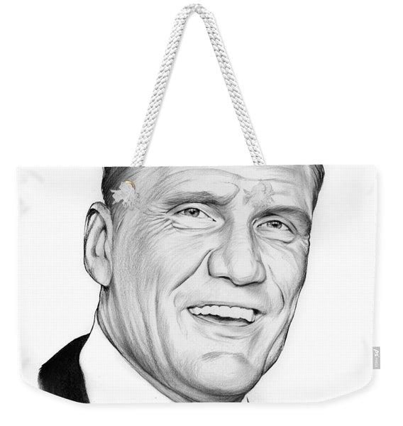 Dolph Lundgren Weekender Tote Bag