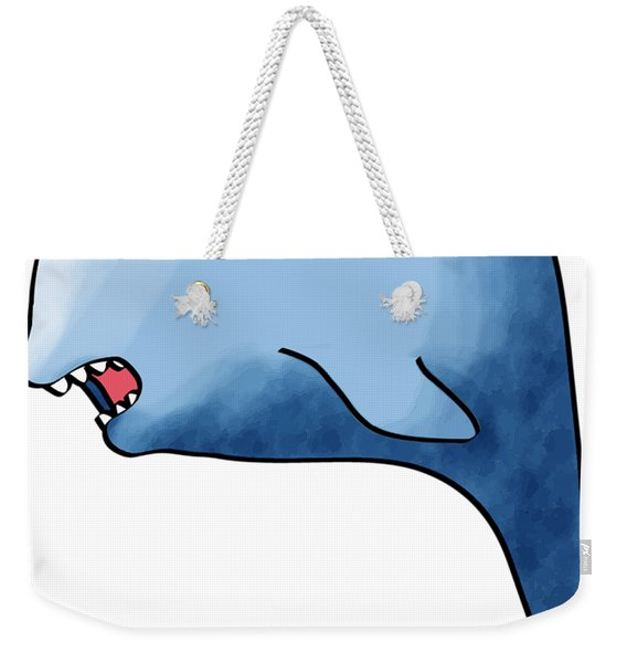 Dolphin Blue Weekender Tote Bag