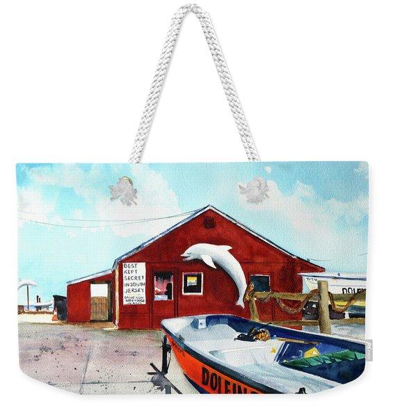 Dolphin Dock II Weekender Tote Bag