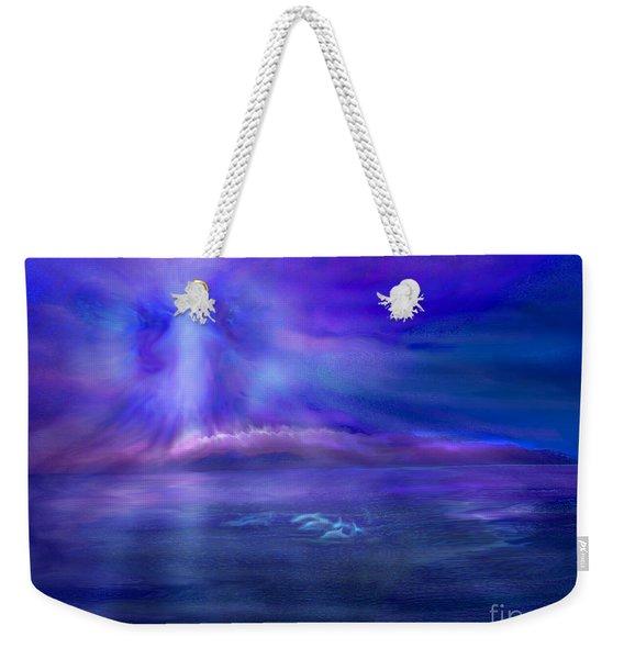 Dolphin Dreaming Weekender Tote Bag