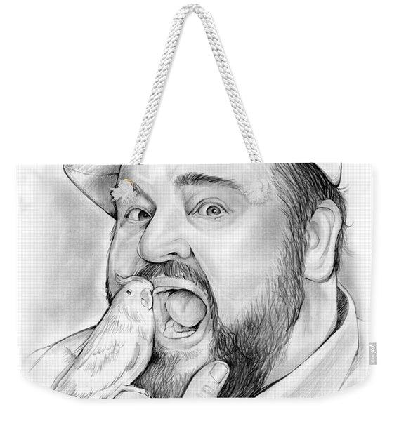 Dom Deluise Weekender Tote Bag