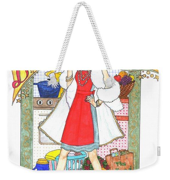 Domestic Diva Weekender Tote Bag