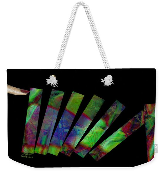 Domino Effect Weekender Tote Bag
