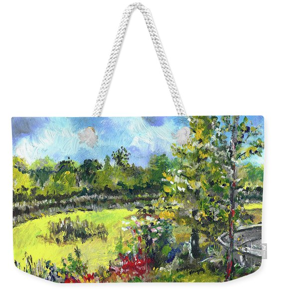 Don T Forget The Wall Weekender Tote Bag