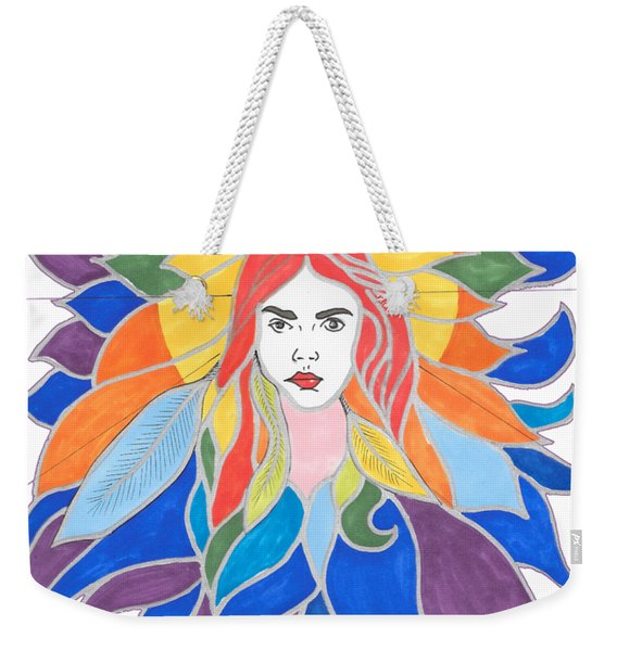Donna Soul Portrait Weekender Tote Bag