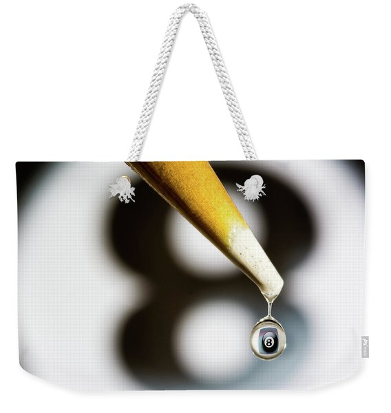 Don't Fall Behind The Eight Ball Weekender Tote Bag