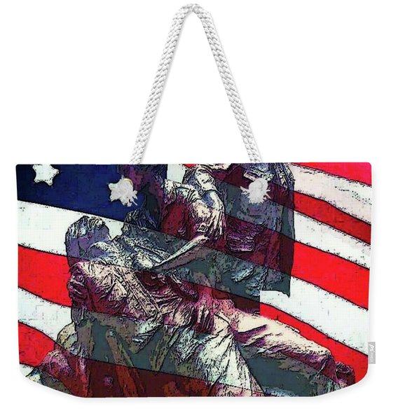 Don't Forget Our Nurses Weekender Tote Bag