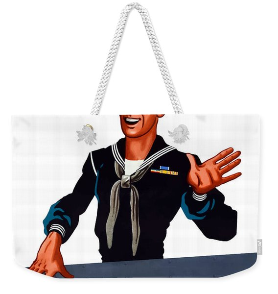 Don't Miss Your X-ray - Ww2 Weekender Tote Bag
