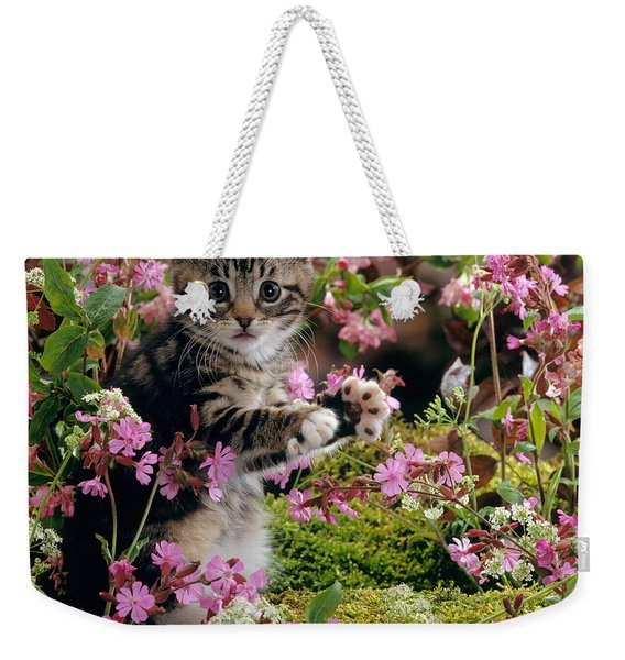Don't Pick The Flowers Weekender Tote Bag