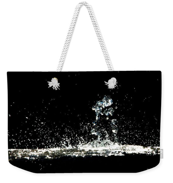 Don't Threaten Me With Love. Weekender Tote Bag