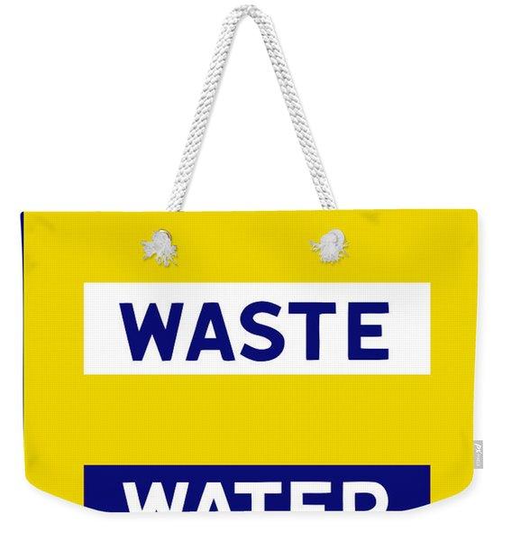 Don't Waste Water - Wpa Weekender Tote Bag