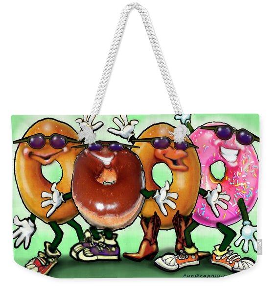 Donut Party Weekender Tote Bag