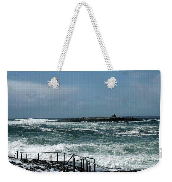 Doolin Waves Weekender Tote Bag