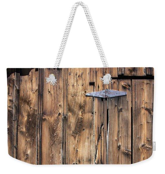 Door Hinge Weekender Tote Bag