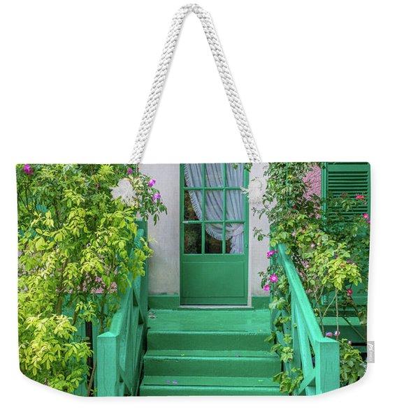 Door To Claude Monet's Home, Giverny 2 Weekender Tote Bag