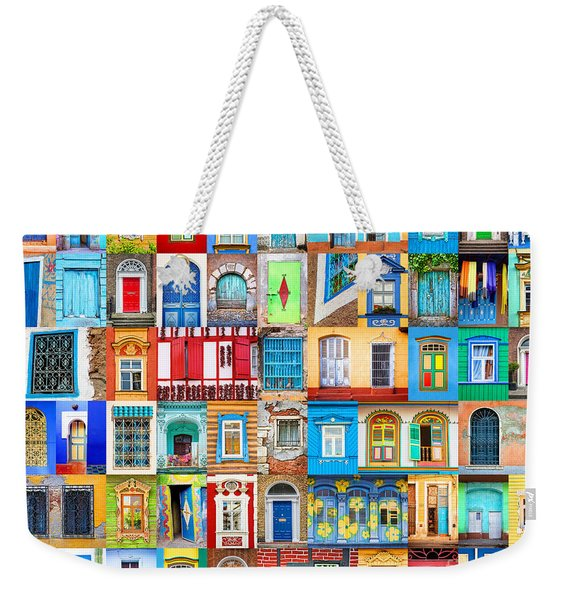 Doors And Windows Of The World Weekender Tote Bag