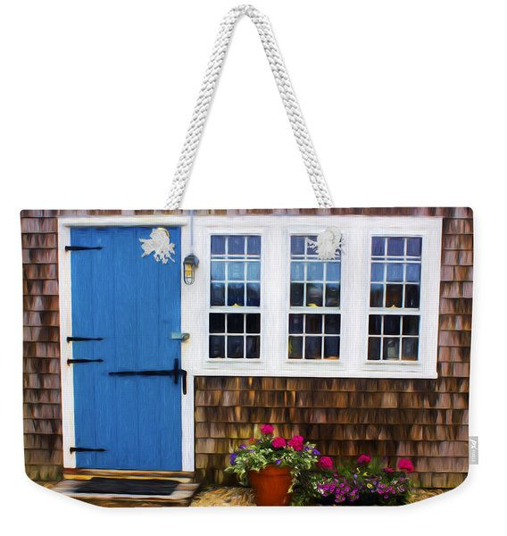 Blue Door - Doors And Windows Series 01 Weekender Tote Bag