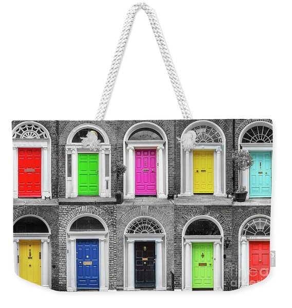 Doors Of Dublin Weekender Tote Bag