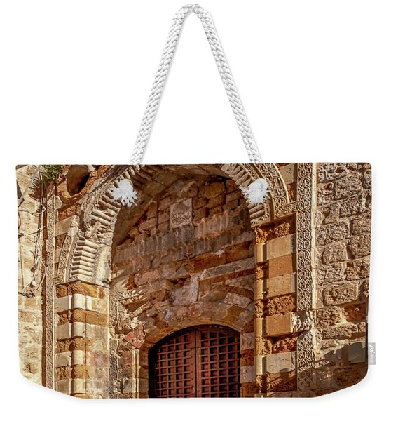 Doorway In Akko Weekender Tote Bag