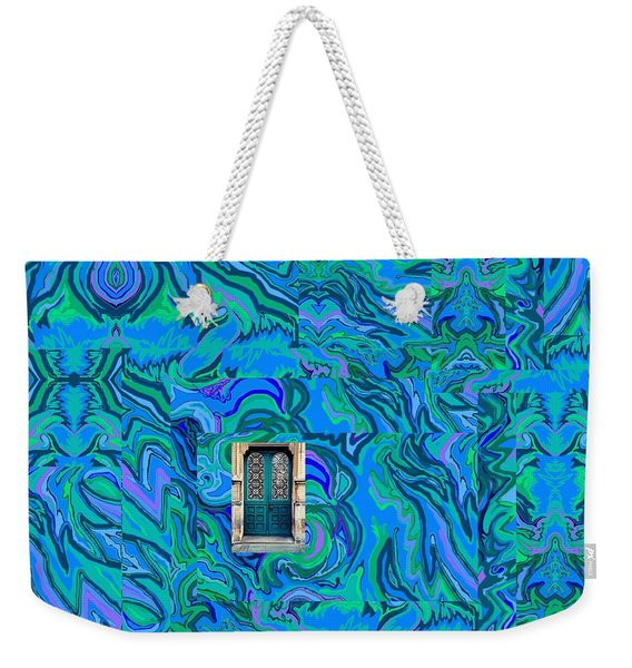 Doorway Into Multi-layers Of Water Art Collage Weekender Tote Bag