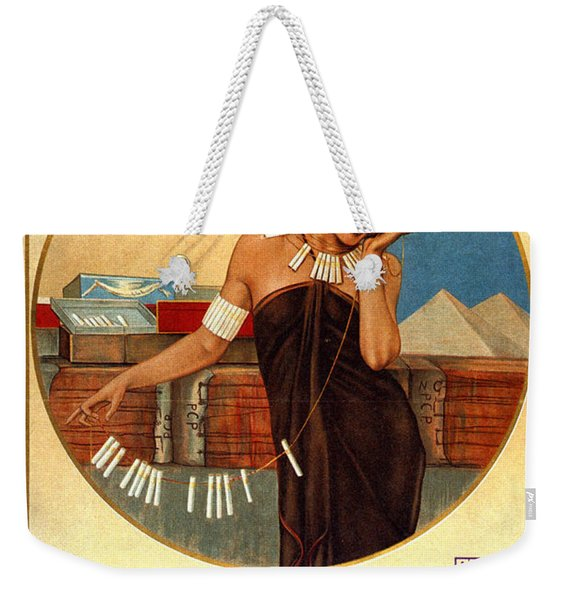 D'orient Cigarettes And Tobacco - Munich, Germany - Vintage Advertising Poster Weekender Tote Bag