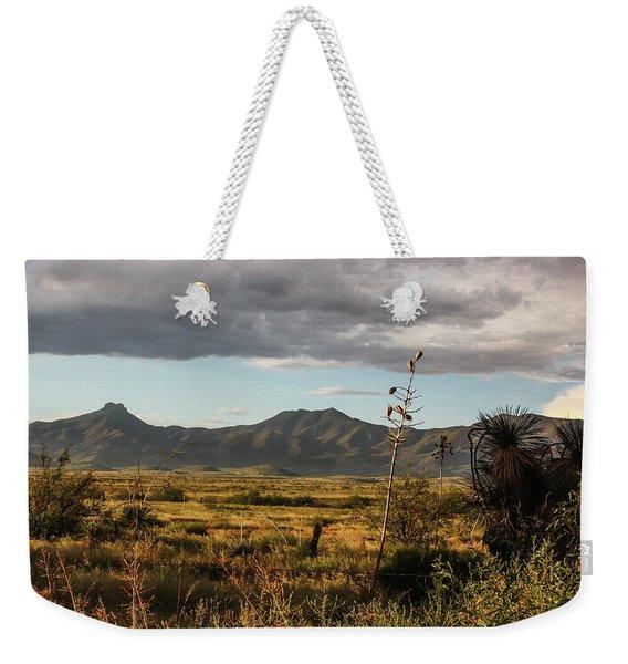 Dos Cabezas Grasslands At Dusk Weekender Tote Bag