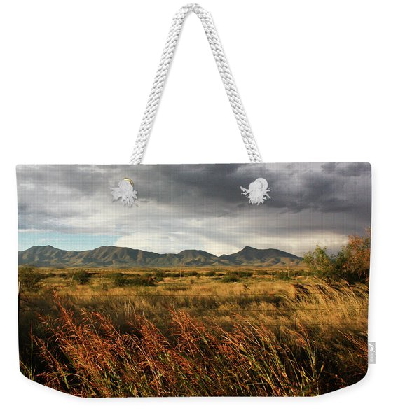 Dos Cabezas Grasslands Weekender Tote Bag