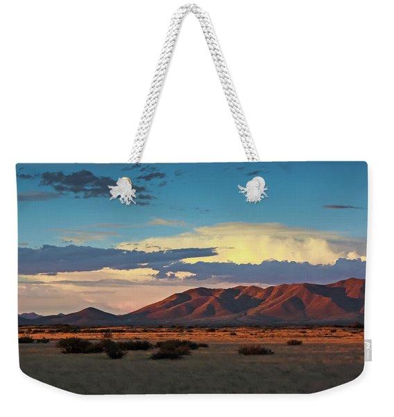 Dos Cabezos Sunset Serenity Weekender Tote Bag