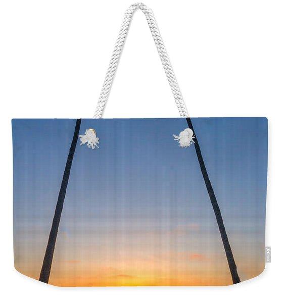 Dos Palms Weekender Tote Bag