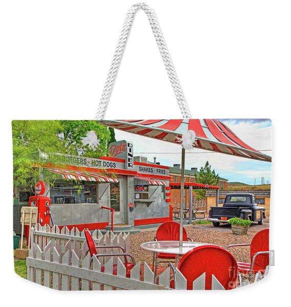 Dot's Diner In Bisbee Arizona Weekender Tote Bag
