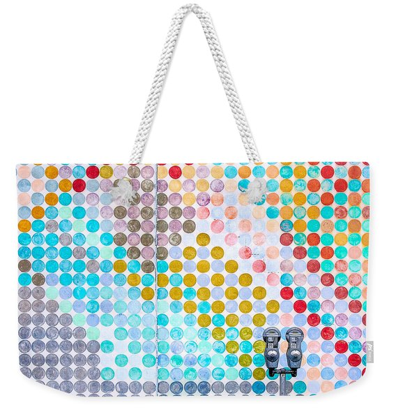 Dots, Many Colored Dots Weekender Tote Bag