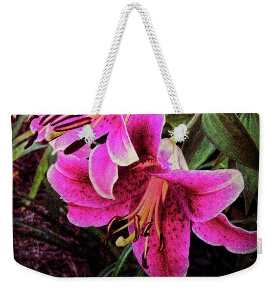Double Beauty Weekender Tote Bag