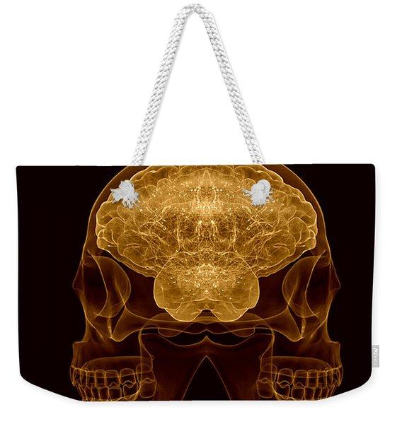 Double Entendre Weekender Tote Bag