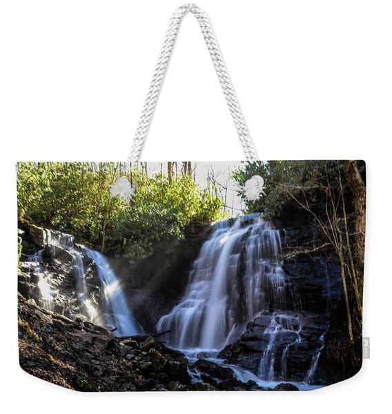 Double Falls Weekender Tote Bag