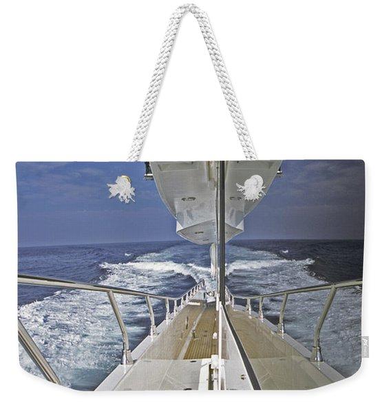 Double Image Weekender Tote Bag