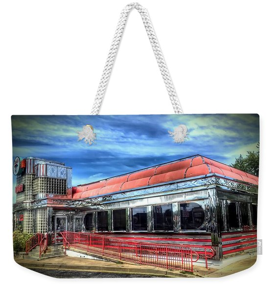 Double T Diner Weekender Tote Bag