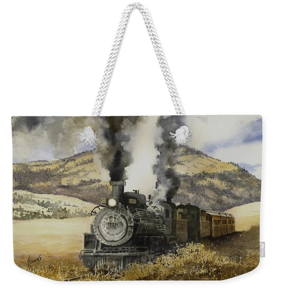 Double Teamin To Cumbres Pass Weekender Tote Bag