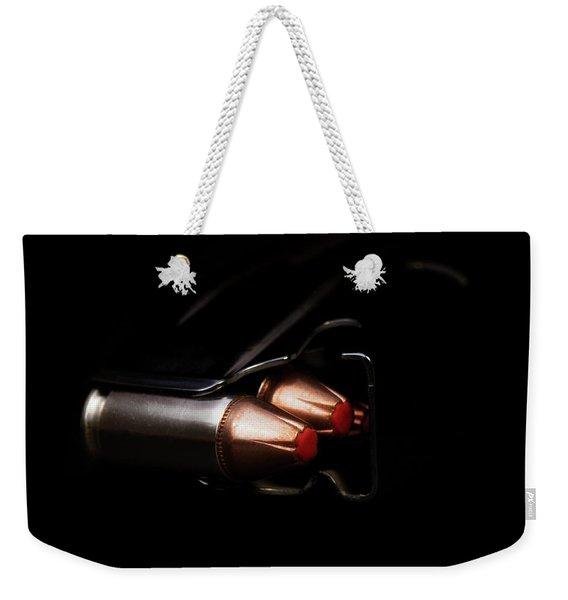 Doublestack 9 Weekender Tote Bag