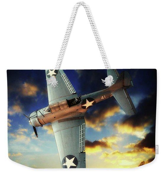 Douglas Sbd Dauntless Weekender Tote Bag