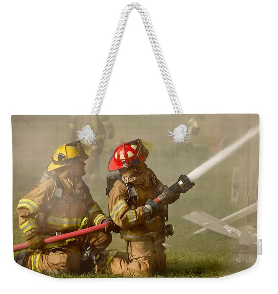 Dousing The Flames Weekender Tote Bag