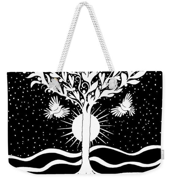 Dove Tree Weekender Tote Bag