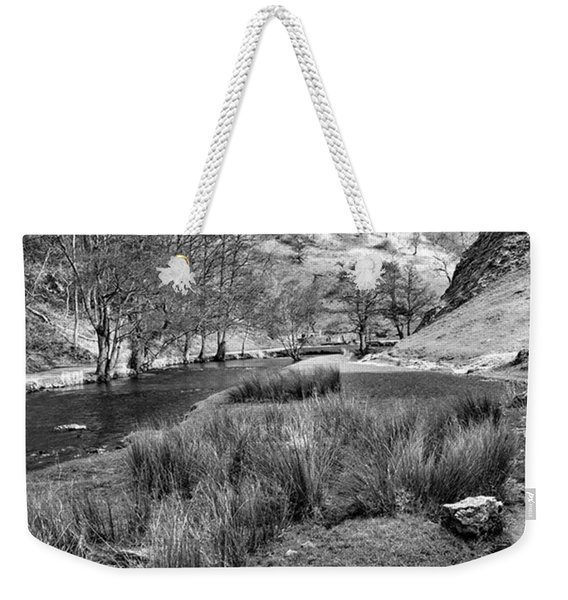 Dovedale, Peak District Uk Weekender Tote Bag