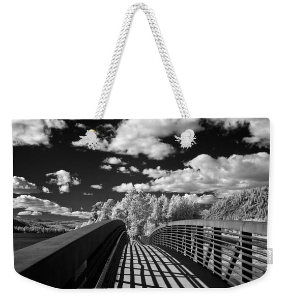 Dover Slough Bridge 1 Weekender Tote Bag