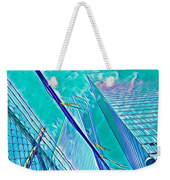 Down By The Water Weekender Tote Bag