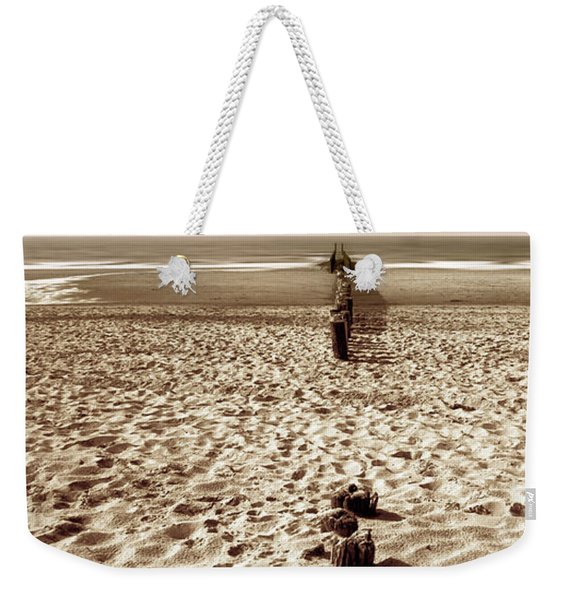 Down The Shore Weekender Tote Bag