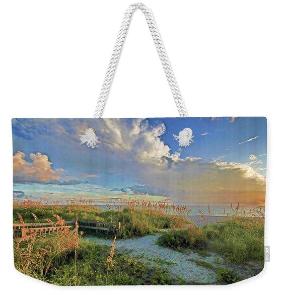 Down To The Beach 2 - Florida Beaches Weekender Tote Bag